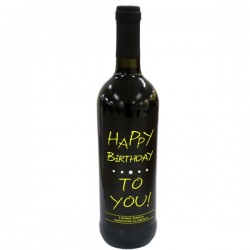 Swarovski Wein - Happy Birthday