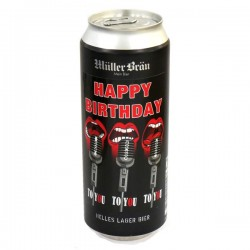 Bier - Happy Birthday