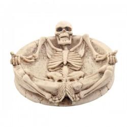 Aschenbecher Skeletton liegend
