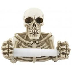 Klopapierhalter Skelett