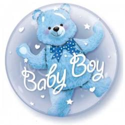 Baby Boy Doppel Ballon