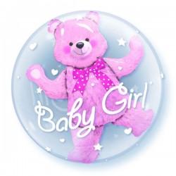 Baby Girl Doppel Ballon