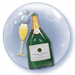 Celebration Champagner Doppel Ballon