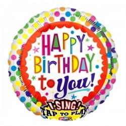 Singender Ballon - Habby Birthday to you