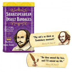 Shakespeare Pflaster