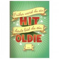 """Musikkarte mit Überraschung """"Hit Oldie"""""""