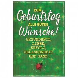 """Musikkarte mit Überraschung """"Geburtstagswünsche Glückskäfer"""""""
