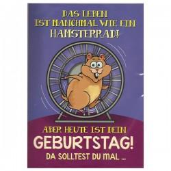 "Musikkarte mit Überraschung ""Hamster"""