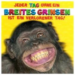 """3D Klappkarten """"Breites Grinsen"""""""