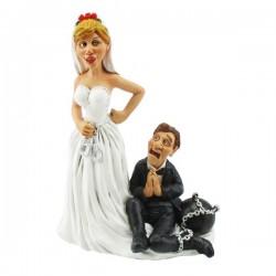 """Hochzeitspaar """"Lebenslänglich"""""""