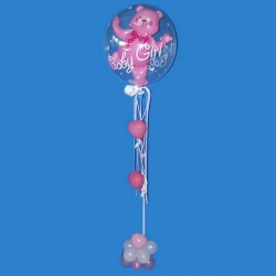 Ballon Arrangement - Baby Girl