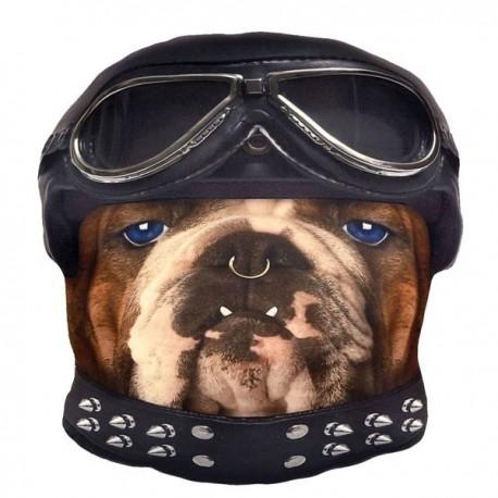 Kissen - Biker Bulldog
