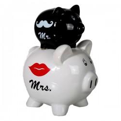 Sparschwein Mr. + Mrs.