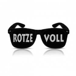 """Partybrille """"Rotze Voll"""""""