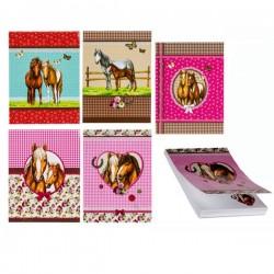 Mini Notizblock Pferde A7