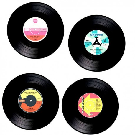Vinyl-Untersetzer Schallplatte