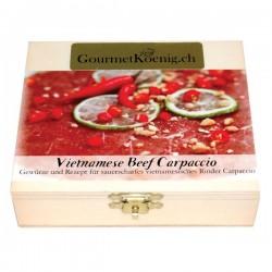 Vietnamese Beef Carpaccio