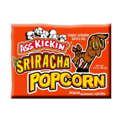 Ass Kickin Sriracha Popcorn