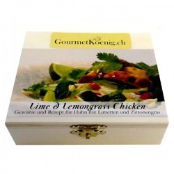 Lime et Lemongrass Chicken