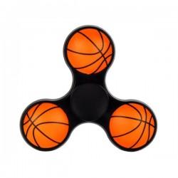 Fidget Spinner Basketball schwarz