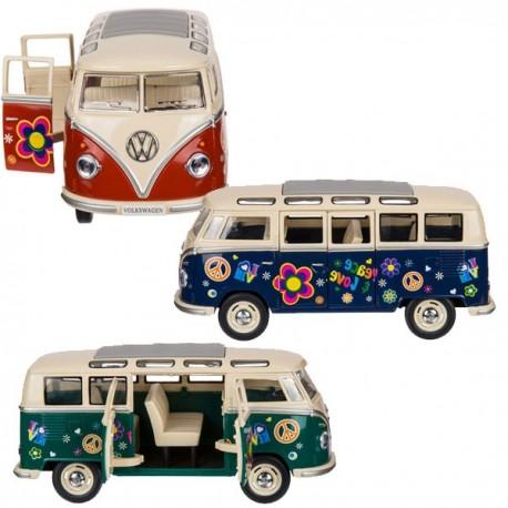 VW Bus Modell Flower Power