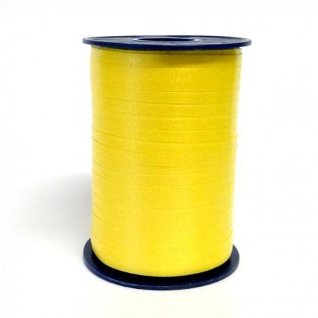 Geschenkband Gelb
