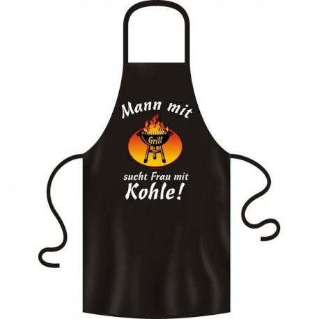 Schürze - Mann mit Grill...