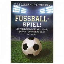 """Musikkarte mit Überraschung """"Fussball Spiel"""""""