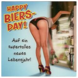 """3D Klappkarten """"Happy Biers Day"""""""