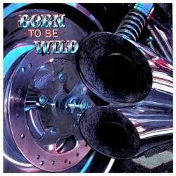 "Stahlglanz Karte ""Born to be Wild"""