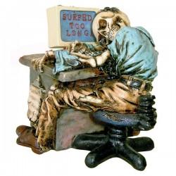 Skelett am PC