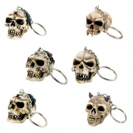 Schlüsselanhänger Totenköpfe