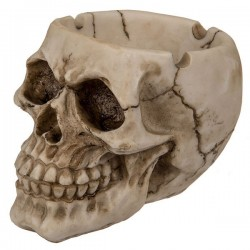 Totenkopf Aschenbecher