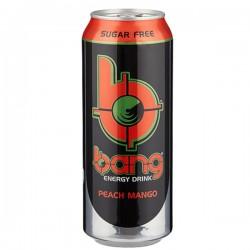 Bang Energy PEACH MANGO Sugar Free
