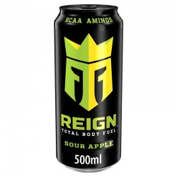 REIGN Sour Apple Energy Drink